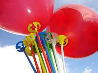 Для фольгированных шаров палочки (цветные)