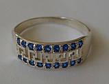 Кольцо 102550ЮМ, серебро 925 проба, кубический цирконий., фото 2