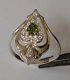 Кольцо 102280ЮМ, серебро 925 проба, кубический цирконий., фото 5