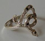 Кольцо 102050ЮМ, серебро 925 проба, кубический цирконий., фото 2