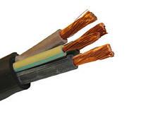 Кабель гибкий КГ 4х2,5мм2 в резиновой изоляции