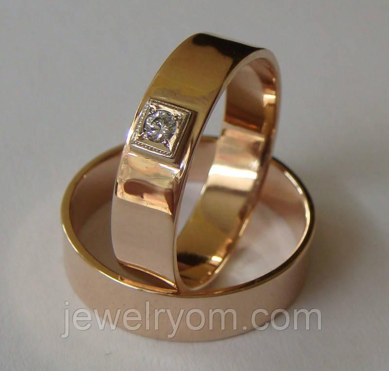 Комплект обручальные кольца