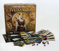 Настольная игра Цивилизация Сида Мейера: Удача и Слава  14+ 2-5 игроков