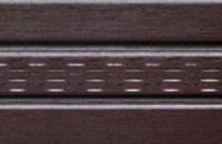 Софіт коричневий перфорований 3,5 м АСКО ASKO Львів (Софит коричневый)