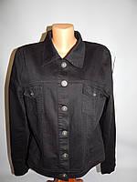 015Ш Куртка джинсовая женская легкая р 50-52
