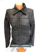 014Ш Куртка джинсовая женская легкая р 46-48