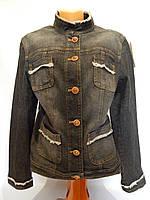 012Ш Куртка джинсовая женская легкая  р 46-48