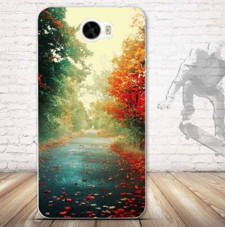Эксклюзивный чехол накладка для Huawei Y5 II с принтом Осень