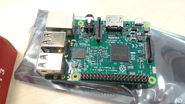 Raspberry Pi Model 3 B Expansion Module
