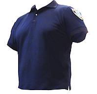 """Тенниска """"Поло"""" для полиции с карманчиком и петлей под жетон"""