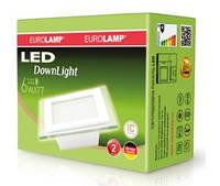 Светильник светодиодный 6W Eurolamp СТЕКЛО