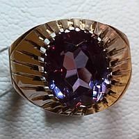 Кольцо с александритом 583 проба,СССР