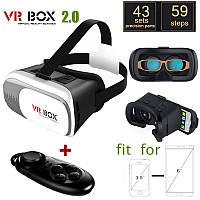 Очки виртуальной реальности VR BOX II 2.0 3D+пульт!