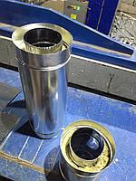 Труба для дымохода двустенная термоизоляционная (труба сэндвич)