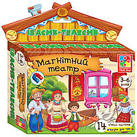 Настольная игра Vladi Toys Магнитный театр Ивасык-Телесик (VT3206-16)