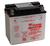 Аккумулятор сухозаряженный 16Ah 207A Yuasa YB16B-A1