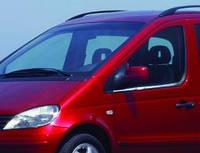 VANEO MPV W414 (2002-2005) Нижние молдинги стекол (нерж.) 2 шт.