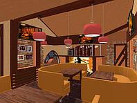 Дизайн интерьера кафе, баров, ресторанов