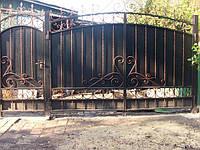 Кованые ворота арт.в 15, фото 1