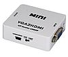 Адаптер VGA-HDMI конвертор #100356