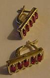 Сережки 29400ММр, срібло 925 проба, кубічний цирконій., фото 4