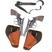Игровой набор с 2 револьверами Cowboy Gonher 147/0
