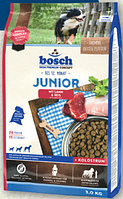 Bosch JUNIOR LAMB & RICE 15 кг - Корм для щенков с чувствительным пищеварением (Бош Юниор,ягненок+рис)