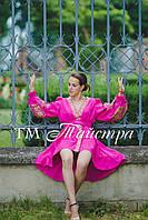 Женское вышитое платье-кимоно «Бохо»
