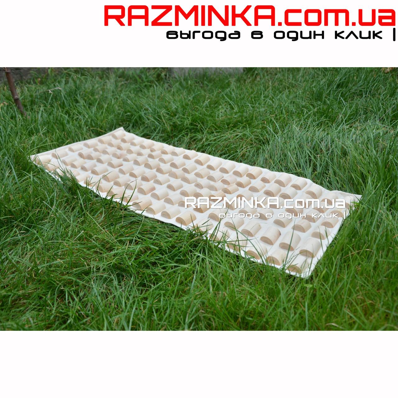 Деревянный коврик массажный Эко 90х40см