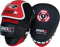 Лапы боксерские RDX red/black