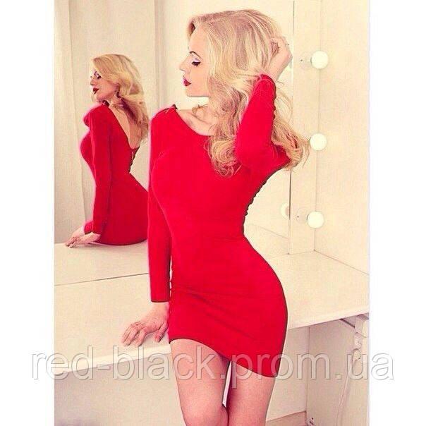 684021a78081 Платье мини с глубоким вырезом на спине, цена 175 грн., купить в ...