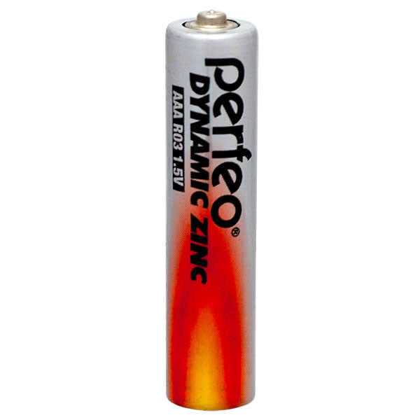 Perfeo батарейка R03 ААА 1,5V, Dynamic zinc, Blister/4
