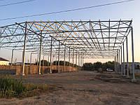 Будівництво зерносховищ,ангарів.складів 40*60*8.