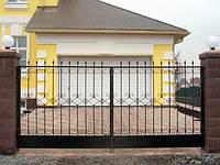 Кованые ворота арт.в 16, фото 1