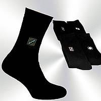 Носки мужские, махровые, хлопковые,  Житомир,  черные