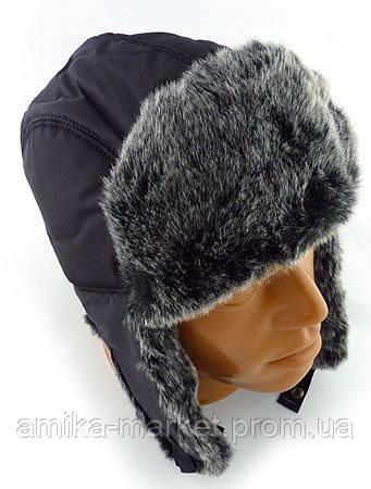 Зимняя теплая шапка ушанка мужская - Амика-маркет в Хмельницком