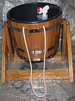 Ведро водопад с пластмассовой  вставкой на 20 литров, фото 1