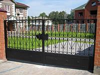 Кованые ворота арт.в 17