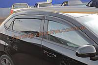 Дефлекторы окон (ветровики) COBRA-Tuning на CHERY BONUS/A13 Hatchback 5d 2011+