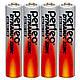 Perfeo батарейка R03 ААА 1,5V, Dynamic zinc, Shrink/4, фото 2