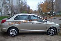 Дефлекторы окон (ветровики) COBRA-Tuning на CHERY BONUS/A13 Sedan 2011+