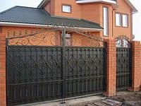 Кованые ворота арт.в 18, фото 1