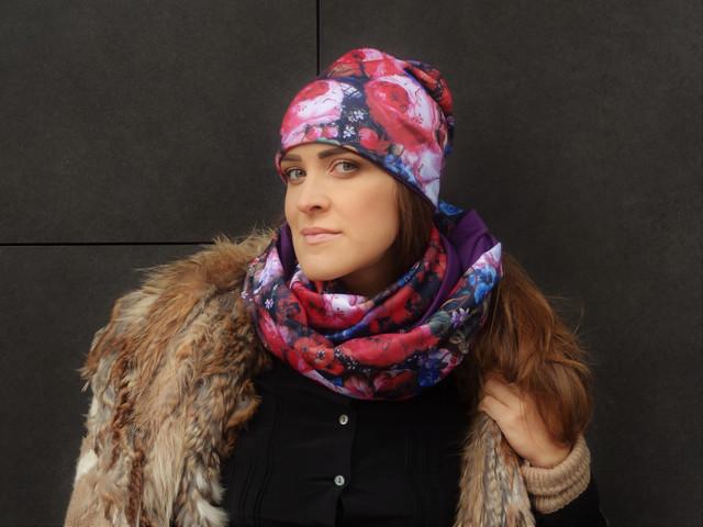 Снуды шарфы с принтами