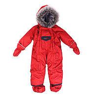 Детский зимний цельный комбинезон Nano 451 M F16 Really Red