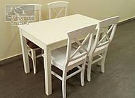 Обеденный комплект стол + 4 стула