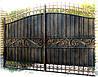 Кованые ворота арт.в 19