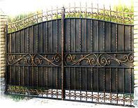Кованые ворота арт.в 19, фото 1