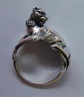 Кольцо КЦ0427МД, серебро 925 проба, кубический цирконий.
