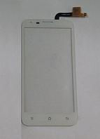 Оригинальный тачскрин / сенсор (сенсорное стекло) для Fly IQ454 Evo Tech 1 (белый цвет)