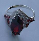 Кольцо КН662МД, серебро 925 проба, кубический цирконий., фото 5